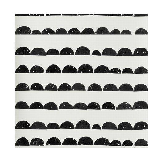"ferm LIVING 33' x 21"" Half Moon Wallpaper"