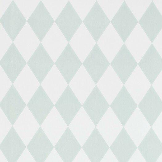 "ferm LIVING Harlequin 32.97' x 20.87"" Geometric Wallpaper"