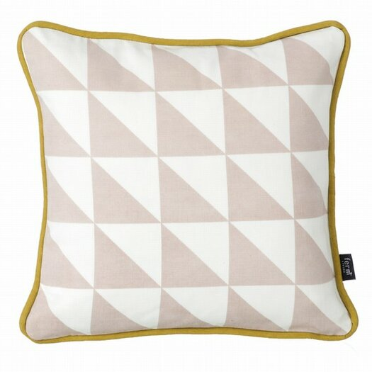 ferm LIVING Little Geometry Organic Cotton Throw Pillow