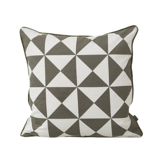 ferm living modern geometric cotton throw pillow allmodern. Black Bedroom Furniture Sets. Home Design Ideas