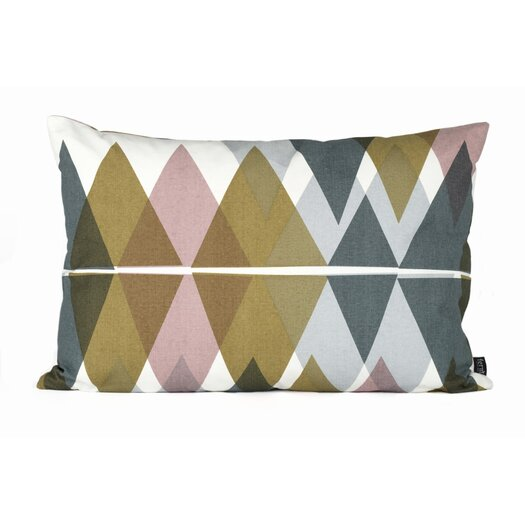 ferm LIVING Mountain Lake Organic Cotton Lumbar Pillow