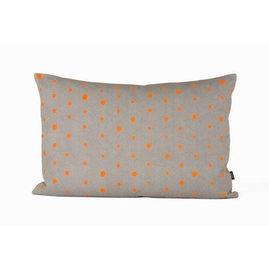 Dotted Organic Cotton Lumbar Pillow