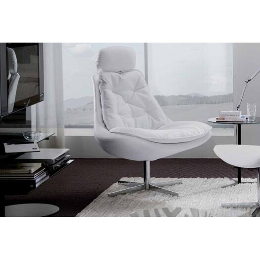 Daya Upholstered Armchair and Ottoman