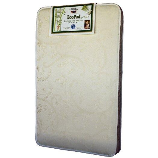 Colgate EcoPad Ecologically Friendlier Portable Crib / Mini Crib Mattress