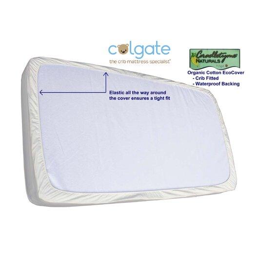 Colgate Colgate Organic Cotton Crib Fitted Mattress Cover