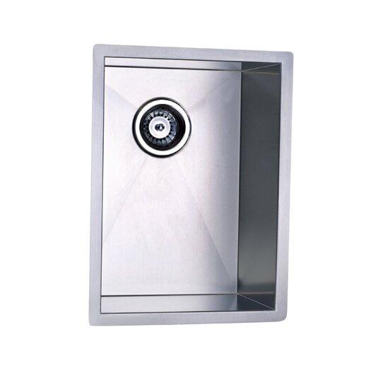 "Elements of Design 20.13"" x 15"" Towne Square Undermount Single Bowl Kitchen Sink"