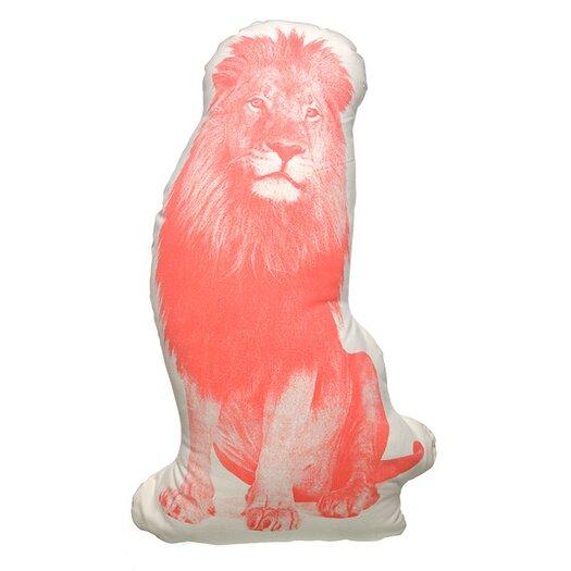 Fauna Organic Cotton Lion Throw Pillow