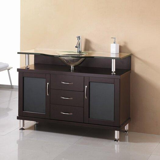 """Virtu Vincente 48"""" Bathroom Vanity Set"""