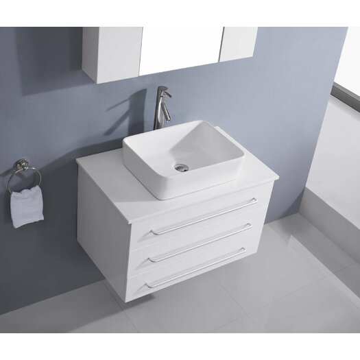 Virtu Maybell 56 Quot Double Bathroom Vanity Set With Mirror