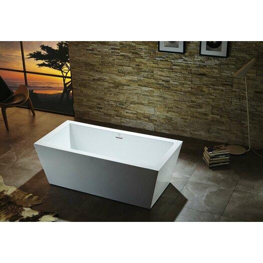 """Virtu Serenity 67"""" x 32"""" Soaking Bathtub"""