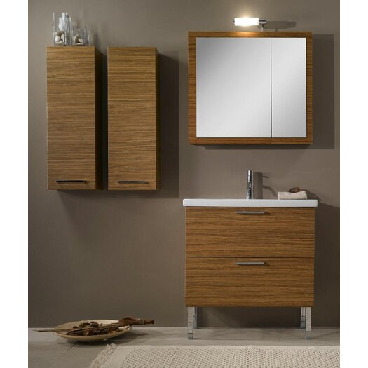 "Iotti by Nameeks Luna 32"" Single Bathroom Vanity Set with Mirror"