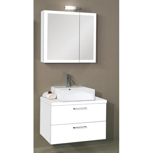 """Iotti by Nameeks Aurora 30"""" Single Bathroom Vanity Set"""