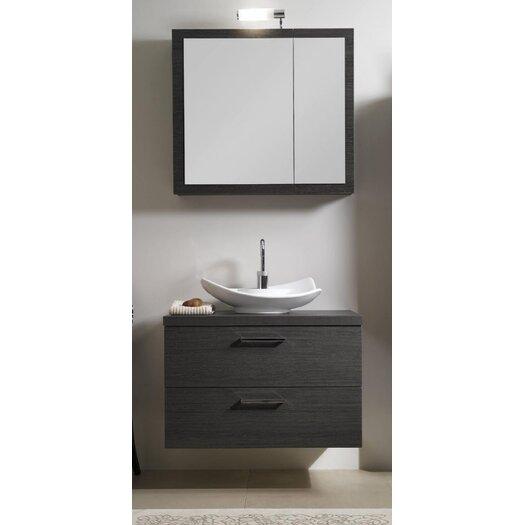 "Iotti by Nameeks Aurora 31"" Single A15 Bathroom Vanity Set with Mirror"