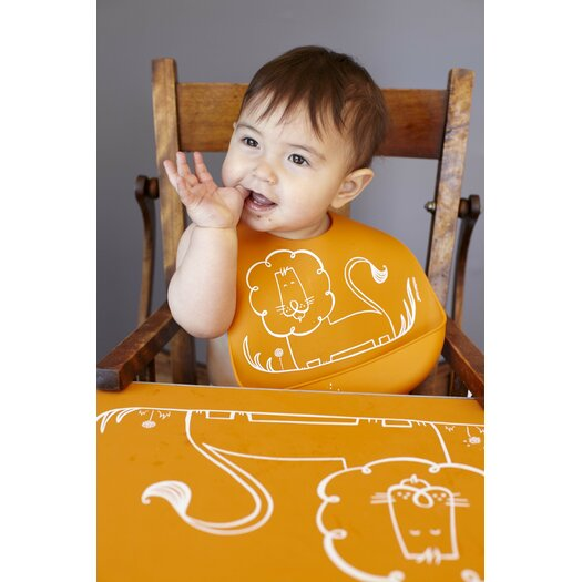 Modern-twist Dandy Lion Bib