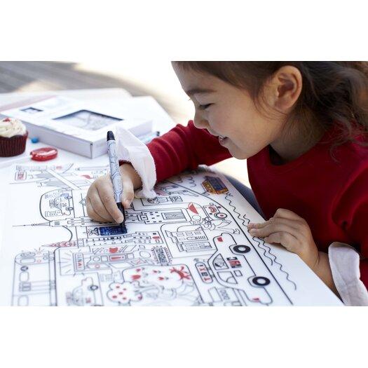 Modern-twist Kids New York Placemat