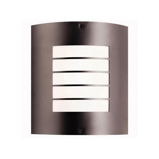 Kichler Newport 1 Light Outdoor Flush Mount