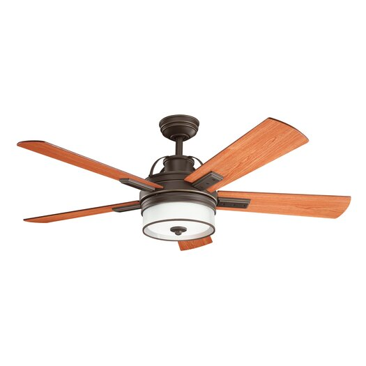 "Kichler 52"" Lacey 5 Blade Ceiling Fan"