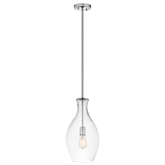Kichler Everly 1 Light Mini Pendant