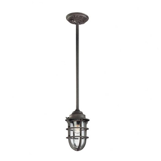 Troy Lighting Wilmington 1 Light Outdoor Pendant