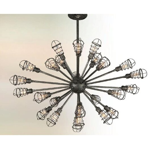 Troy Lighting Conduit 24 Light Chandelier