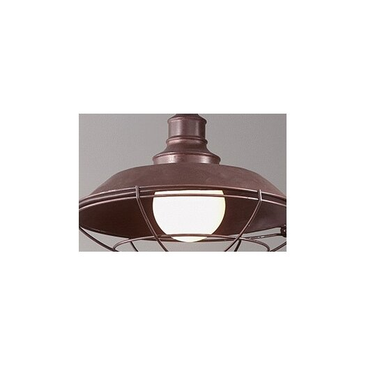 Troy Lighting Circa 1910 1 Light Outdoor Hanging Lantern