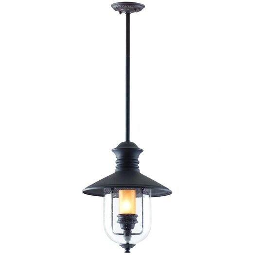 Troy Lighting Old Town 1 Light Outdoor Hanging Lantern