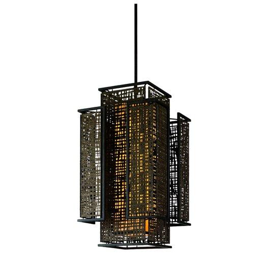 Corbett Lighting Shoji 4 Light Foyer Pendant