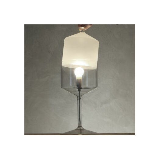 """Produzione Privata Bonne Nuit 13.8"""" H Table Lamp with Novelty Shade"""