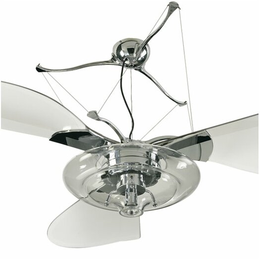 "Quorum 58"" Jellyfish 3 Blade Ceiling Fan"