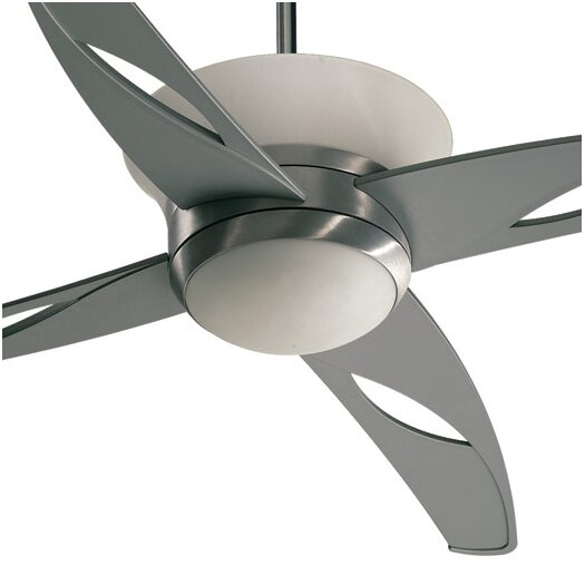 "Quorum 52"" Astra 4 Blade Ceiling Fan with Wall Control"