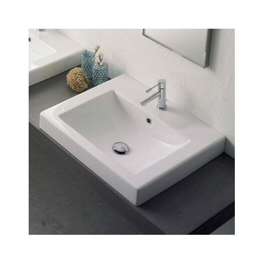 Scarabeo by Nameeks Built-In Bathroom Sink