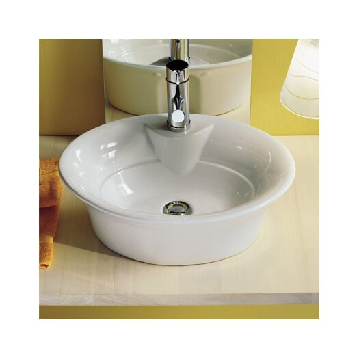 Scarabeo by Nameeks Sax Above Counter Single Hole Bathroom Sink
