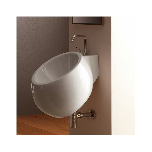 Scarabeo by Nameeks Planet Wall Mounted Bathroom Sink