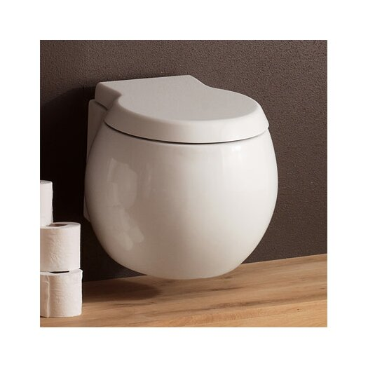 Planet Wall Mounted Round 1 Piece Toilet Product Photo