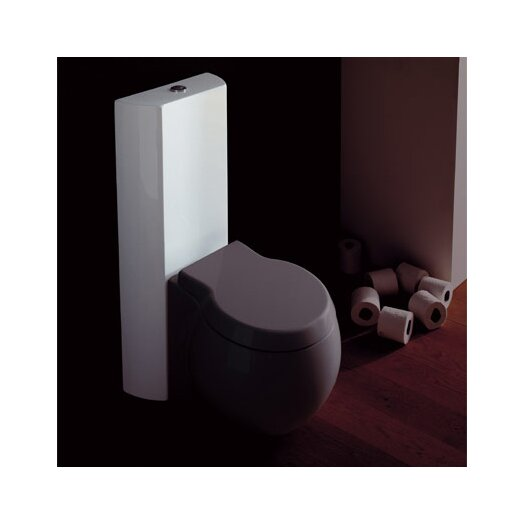 Scarabeo by Nameeks Planet Floor Mounted Round Toilet Bowl Only
