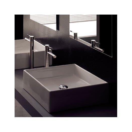 Scarabeo by Nameeks Teorema Above Counter Bathroom Sink