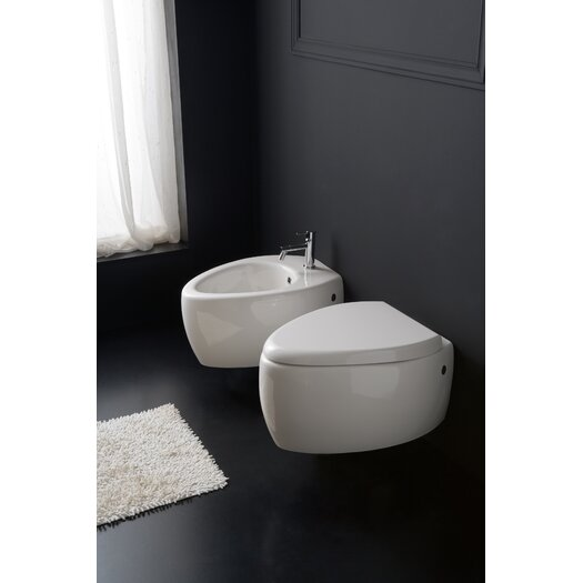 Scarabeo by Nameeks Moai Wall Mount Bidet