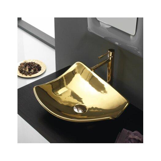 Scarabeo by Nameeks Kong Vessel Bathroom Sink