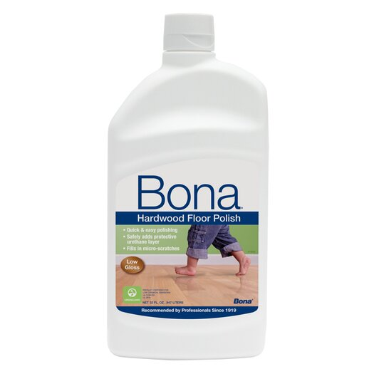 Bona Kemi Low Gloss Hardwood Floor Polish - 32 oz