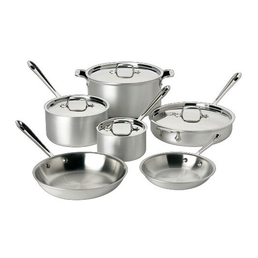 All-Clad Master Chef 10 Piece Cookware Set