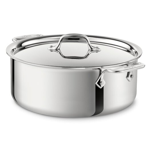 All-Clad Stainless Steel Stock Pot with Lid