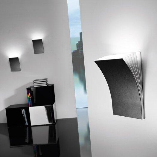 Axo Light Polia 1 Light Wall Sconce in Basalt Gray