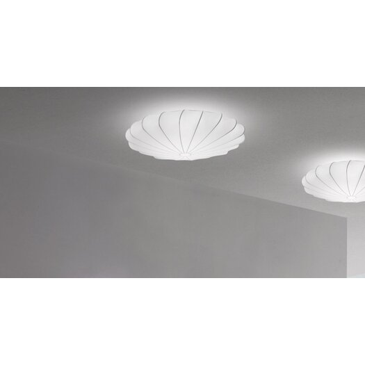 Axo Light Muse 1 Light Blanco Ceiling Light (E26 Fluorescent)