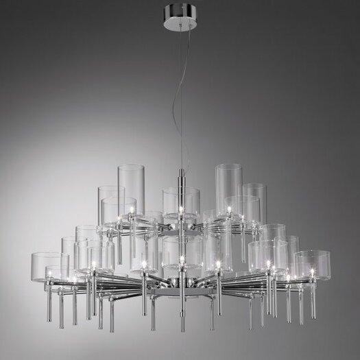 Axo Light Spillray 30 Light Crystal Chandelier