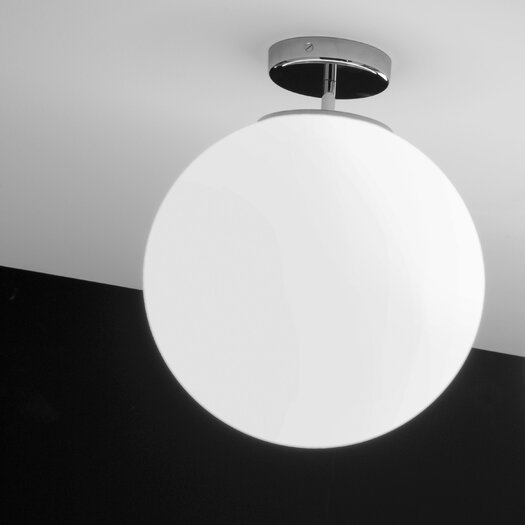 Ai Lati Sferis 2 Light Semi-Flush Mount