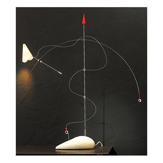 """Lucifero Illuminazione Titivilus 25.5"""" H Table Lamp with Cone Shade"""