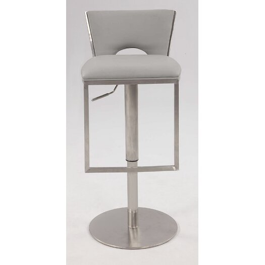 Chintaly Imports Adjustable Height Swivel Bar Stool