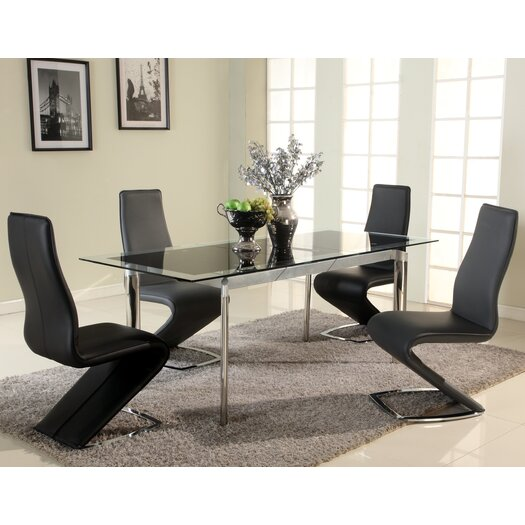 Chintaly Imports Tara 5 Piece Dining Set