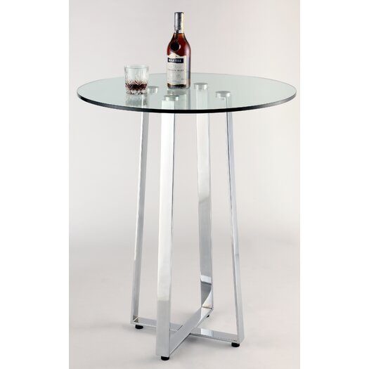 Chintaly Imports Chambers Counter Height Pub Table Set