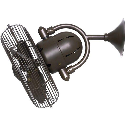 """Matthews Fan Company 13"""" Oscillating Wall Fan"""